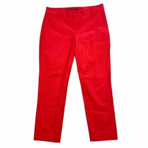 Theory Yanette Stretch Cropped Straight Leg Pant